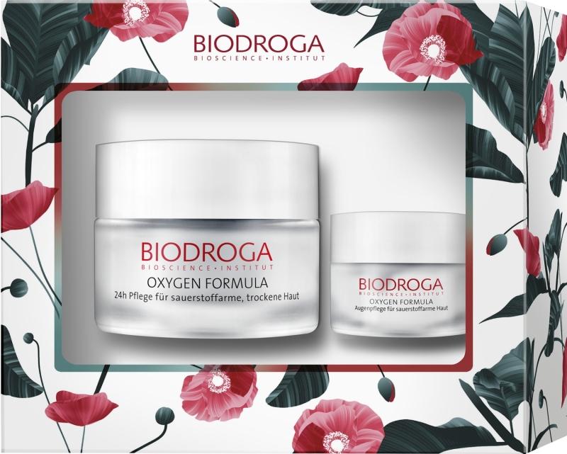 Biodroga Oxygen Formula Geschenkset für sauerstoffarme, trockene Haut