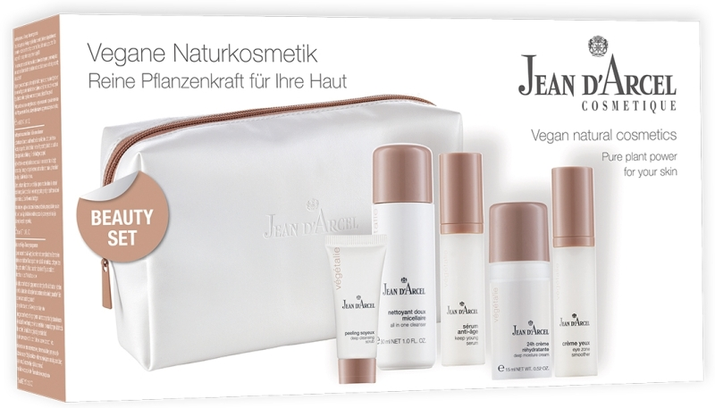 Jean d´Arcel Beauty Set vegetalie