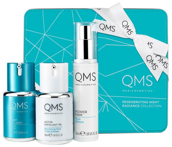 QMS Regenerating Night Radiance Collection