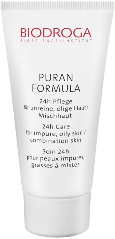 Biodroga Puran Formula 24h Pflege für unreine, ölige Haut / Mischhaut