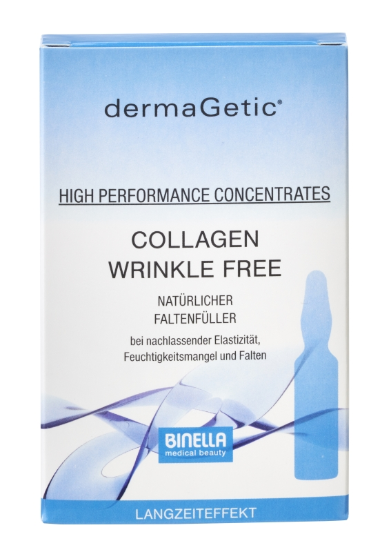 BINELLA dermaGetic Collagen Wrinkle Free Concentrates