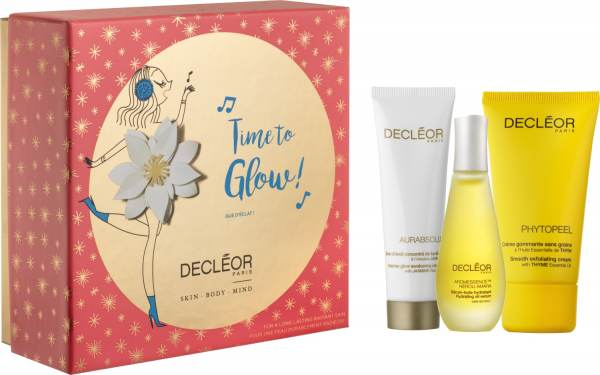 Decléor X-mas Coffret Time to Glow