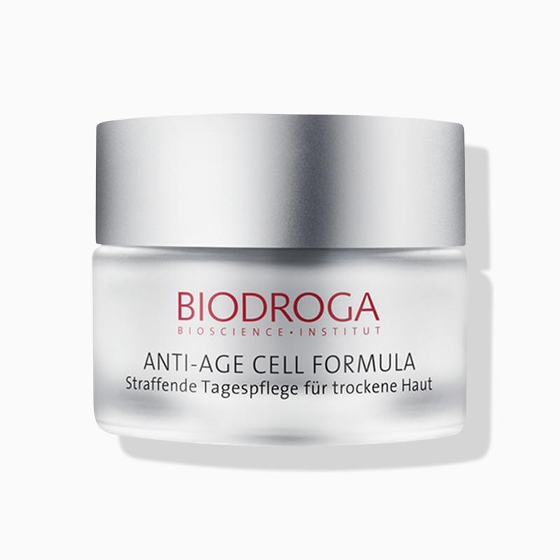 Biodroga Anti-Age Cell Formula straffende Tagespflege für trockene Haut