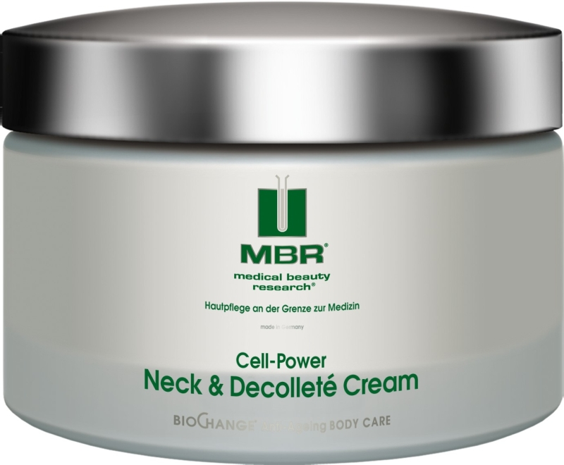 MBR medical beauty research BioChange Anti-Ageing Neck & Decolleté Cream