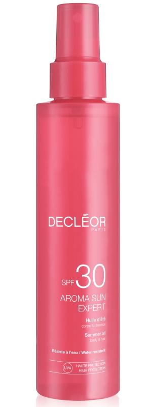 Decléor Huile d´été corps & cheveux LSF 30