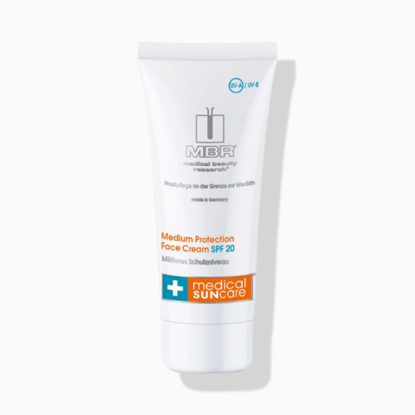 MBR medical beauty research SunCare Medium Protection Face Cream SPF 20