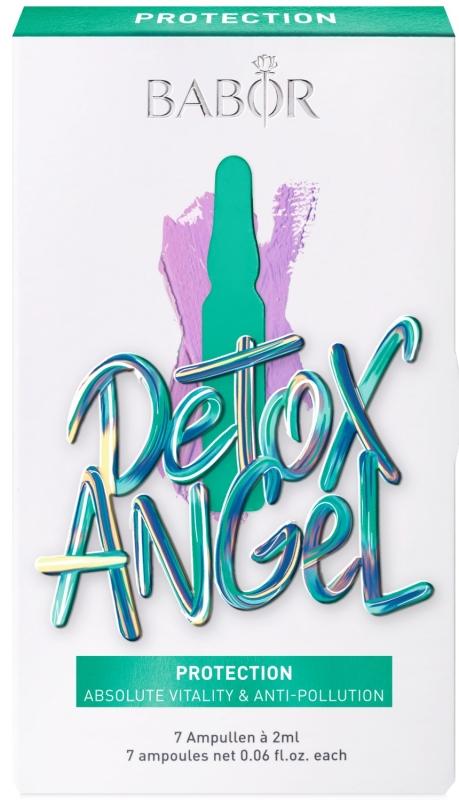 BABOR Ampoule Concentrates Protection Detox Angel