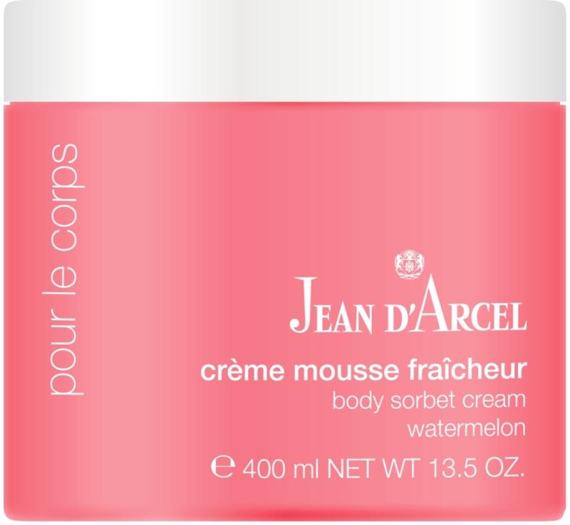 Jean d´Arcel crème mousse fraîcheur - body sorbet cream watermelon