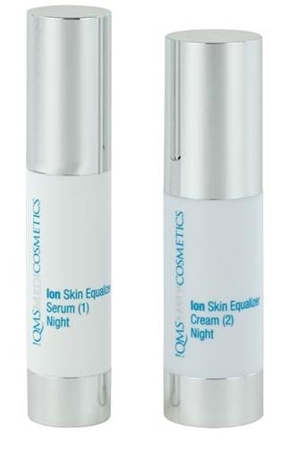 !QMS Ion Skin Equalizer Night Serum & Cream