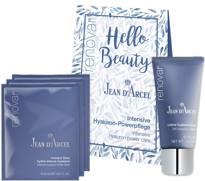 Jean d´Arcel Hello Beauty Hyaluron-Powerpflege Set