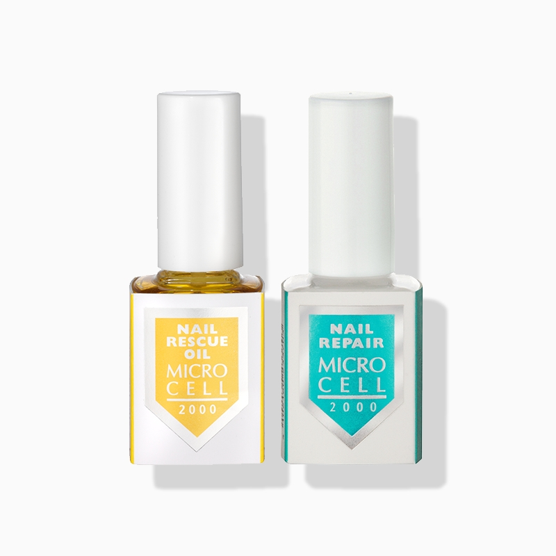 MICRO CELL Nail Repair & Nail Rescue Oil DUO