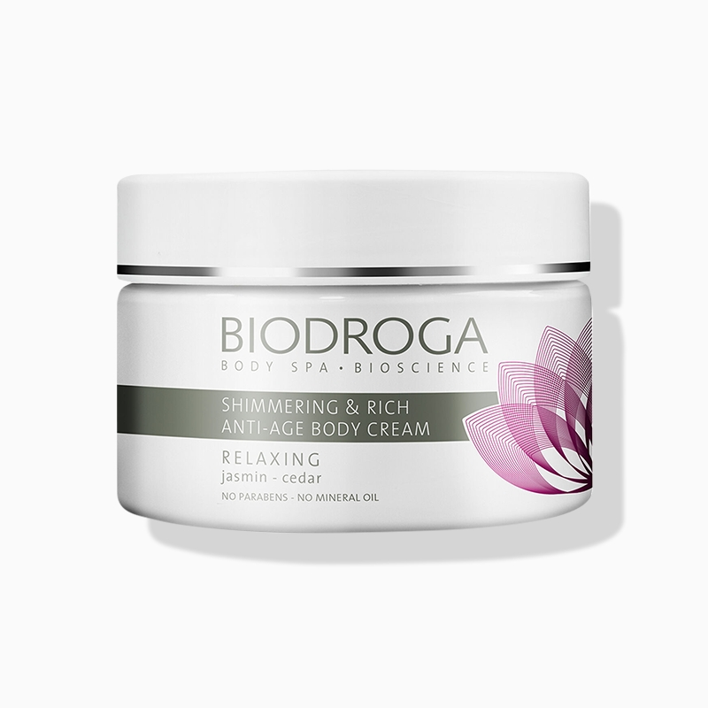 Biodroga Relaxing Body Shimmering Rich Anti-Age Body Cream