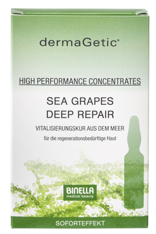 BINELLA dermaGetic Sea Grapes Deep Repair Concentrates