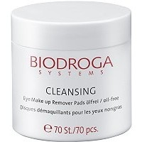 Biodroga Eye Make up Remover ölfrei Pads