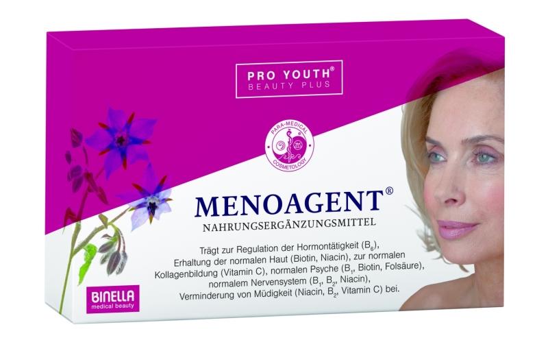 BINELLA menoAgent® Pro Youth Beauty Plus Kapseln