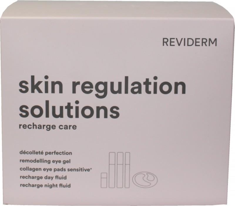 Reviderm skin regulation solutions recharge set