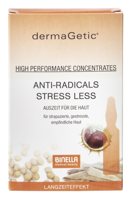 BINELLA dermaGetic Anti-Radicals Stress Less Concentrates