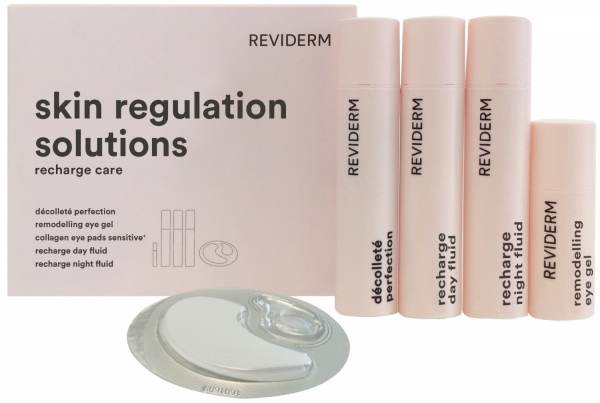 Reviderm skin regulation solutions recharge set