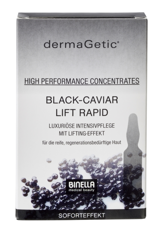 BINELLA dermaGetic Black-Caviar Lift Rapid Concentrates