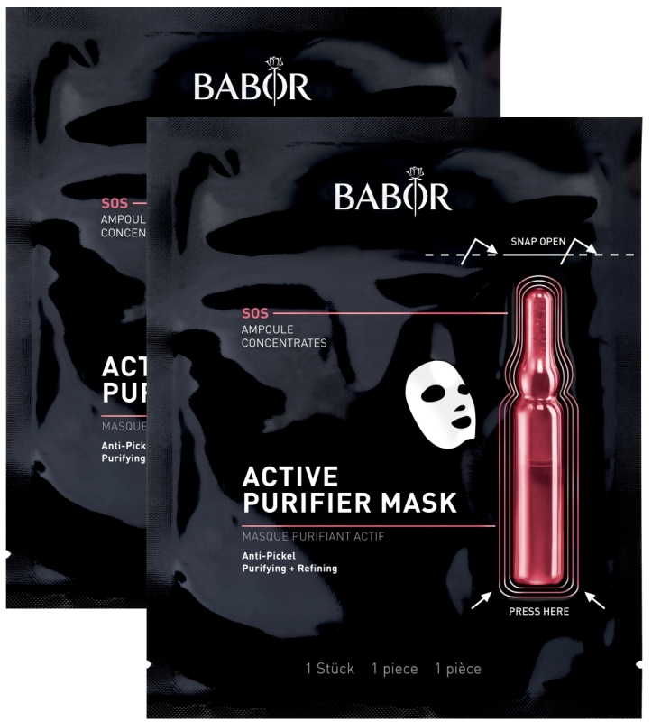 BABOR Active Purifier Mask Doppelpack