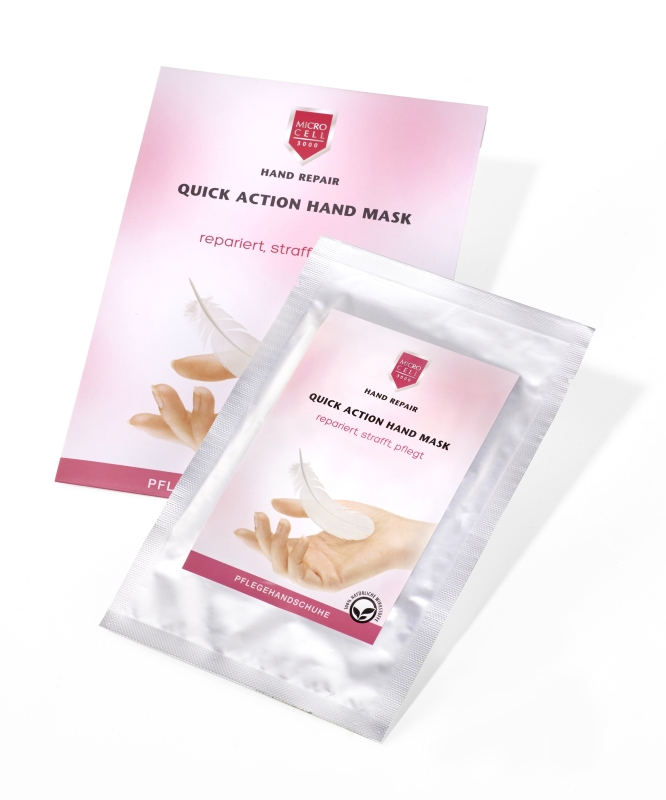 MICRO CELL Quick Action Hand Mask Handschuhe