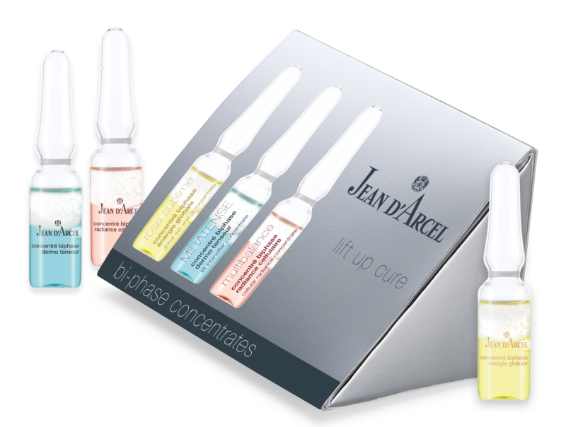 Jean d´Arcel bi-phase concentrates Trio lift up cure