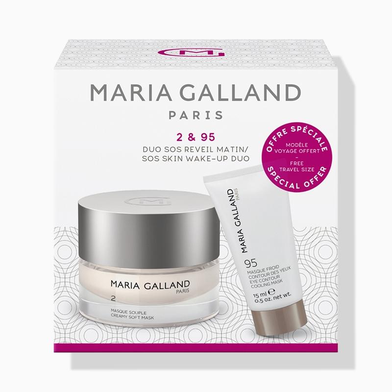 Maria Galland 2 & 95 SOS Réveil Matin - Skin Wake-Up Duo