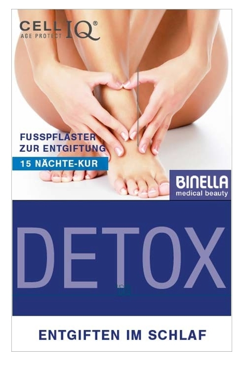 BINELLA Cell IQ Detox Active Pflaster Foot Patches