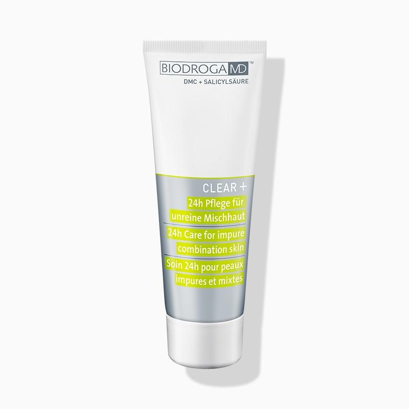 Biodroga MD™ Clear+ Anti-Age Pflege für unreine Haut
