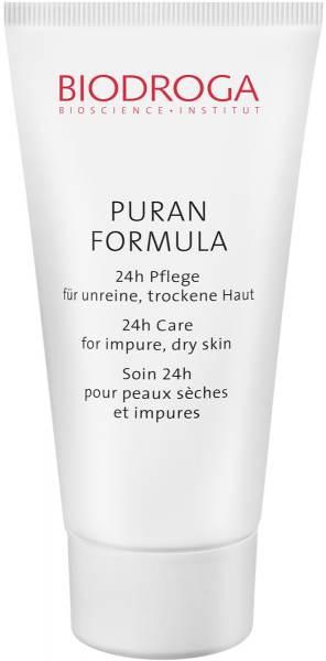 Biodroga Puran Formula 24h Pflege für unreine, trockene Haut
