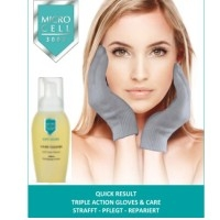 MICRO CELL Quick Result Triple Action Gloves & Repair Plus Serum