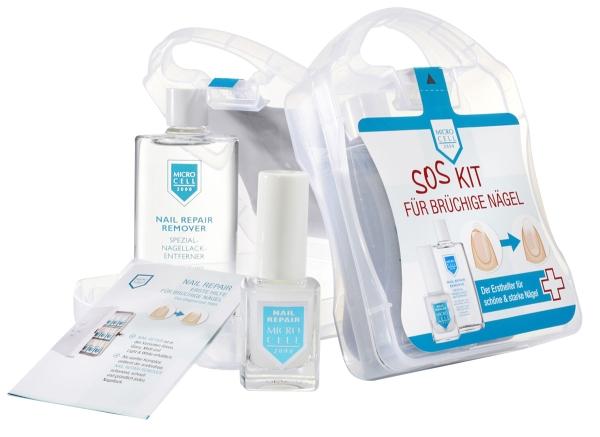 MICRO CELL SOS Kit für brüchige Nägel